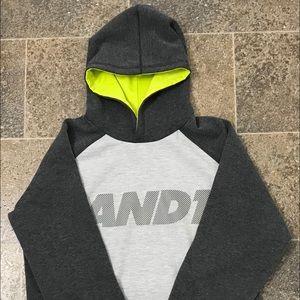 Boys Gray Hoodie Longsleeves SweatShirt XL(14/16).